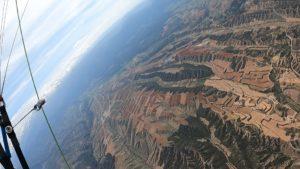 Cross de Sierra nevada vers l'Altiplano